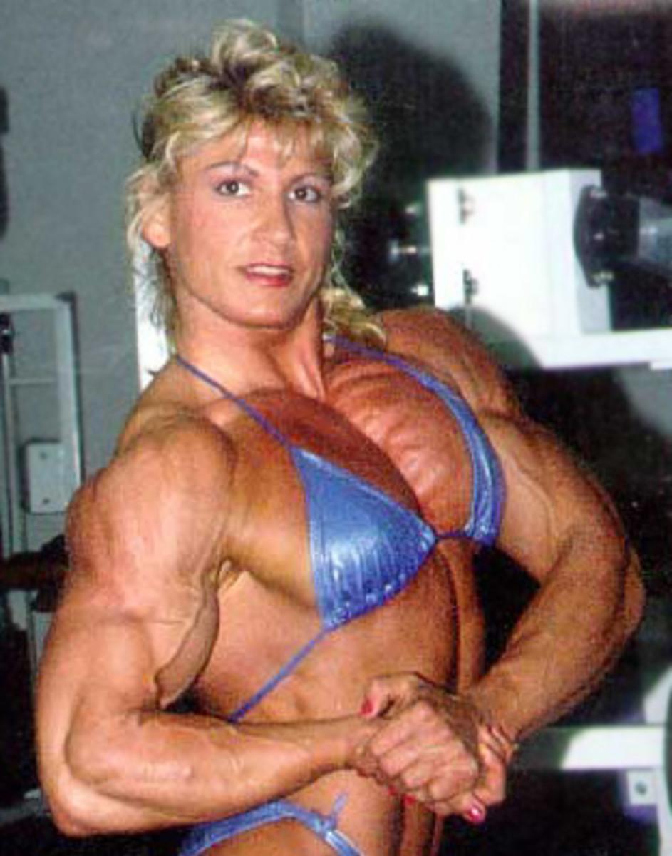 """Not the """"Muscle Goddess"""" Lauren Powers"""