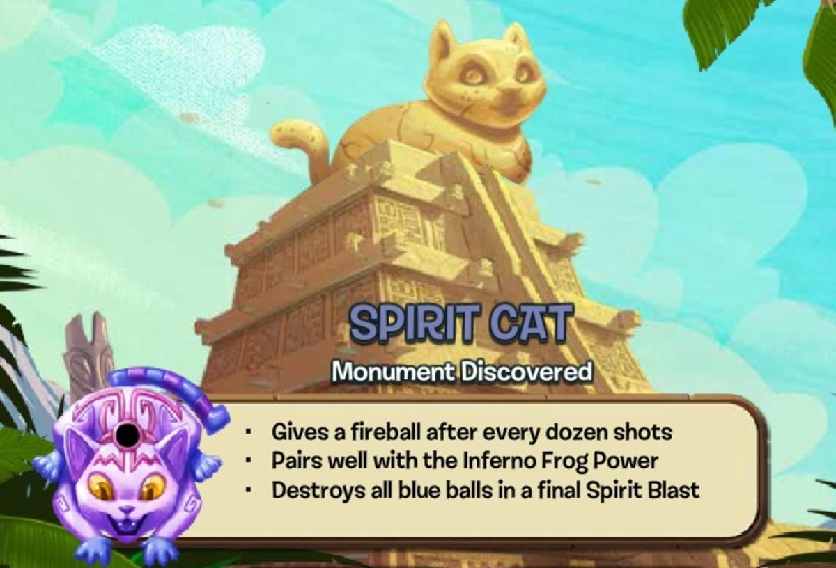 Spirit Cat Zuma Blitz Popcap Games