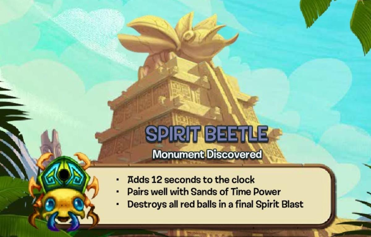 Spirit Beetle Zuma Blitz Popcap Games