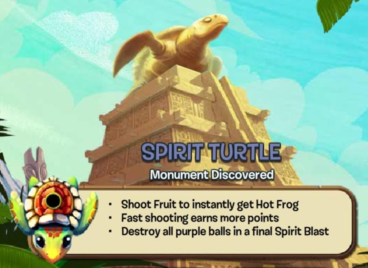 Spirit Turtle Zuma Blitz Popcap Games