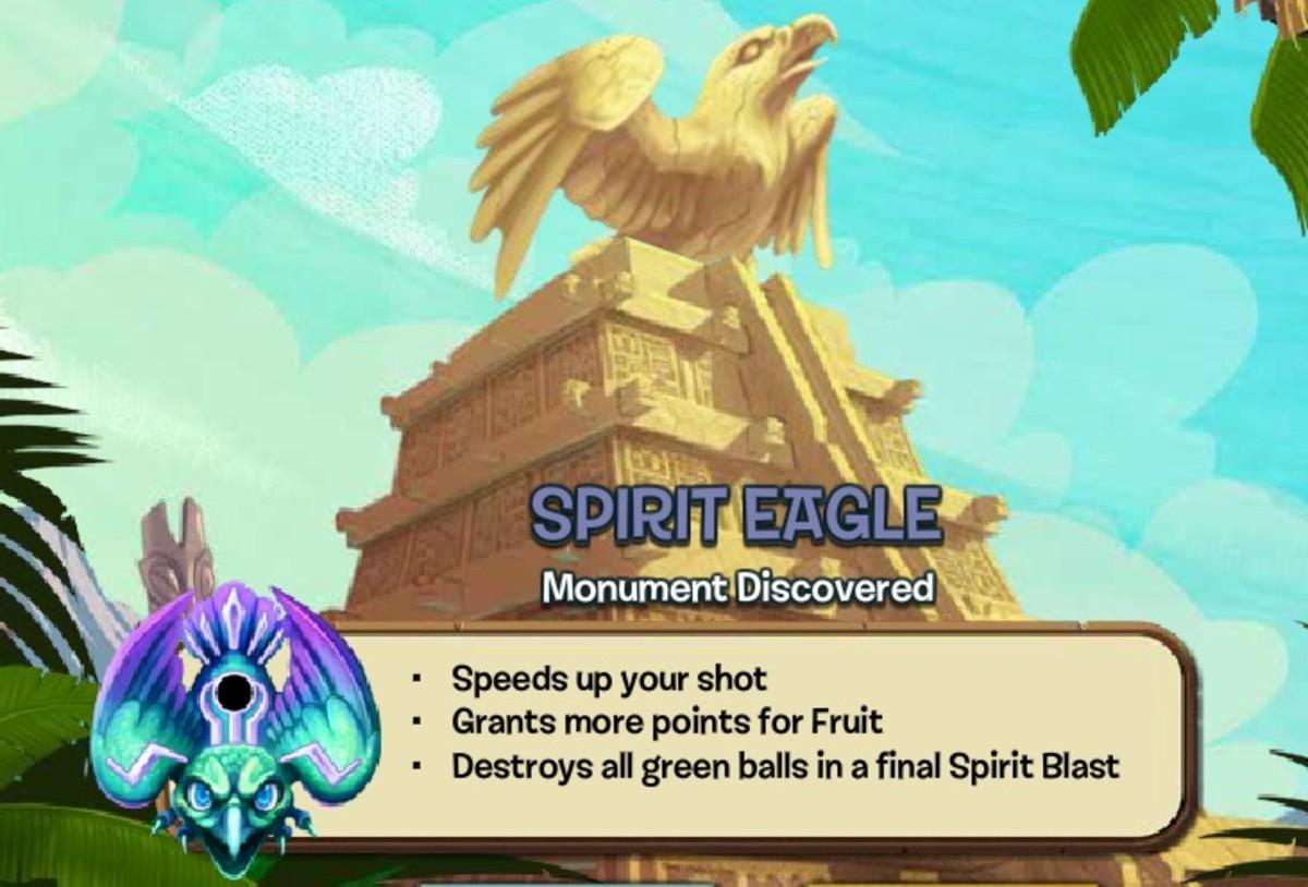 Spirit Eagle Zuma Blitz Popcap Games