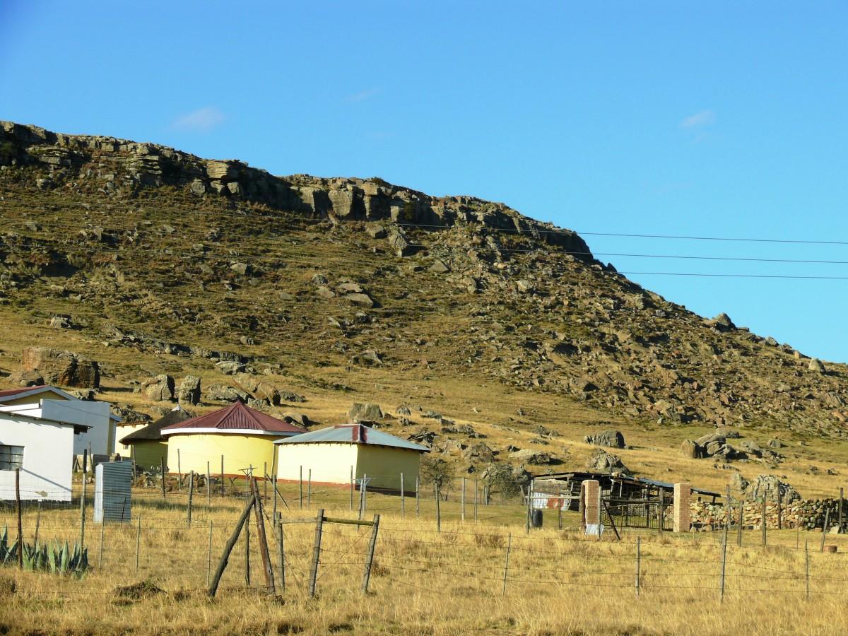 Tribal Village near Mount Fletcher