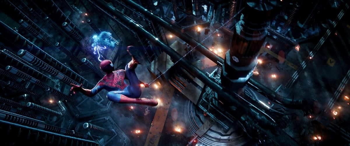 Spider-Man vs Electro