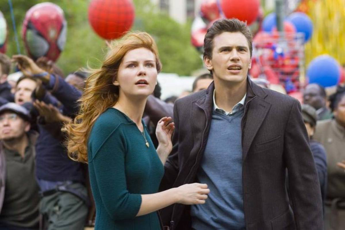 Kirsten Dunst and James Franco in Spider-Man 3 (2007)