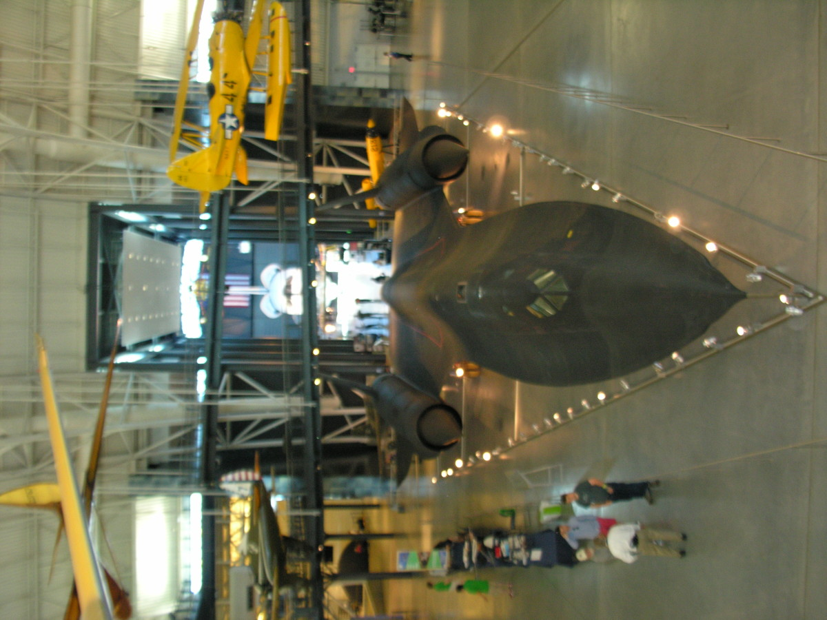 An SR-71 at the Udvar-Hazy Center, June 18, 2016