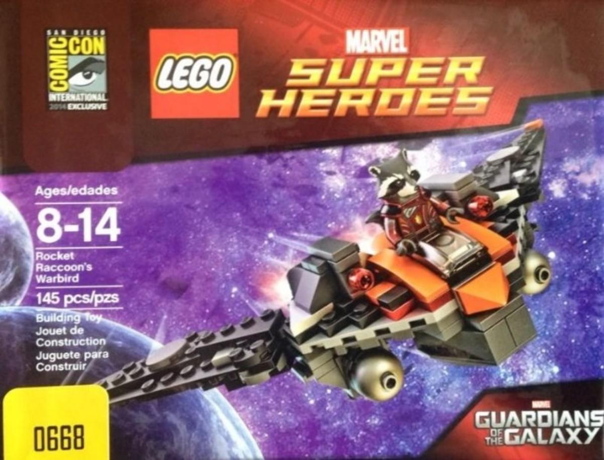 LEGO Rocket Racoon's Warbird COMCON034 Box