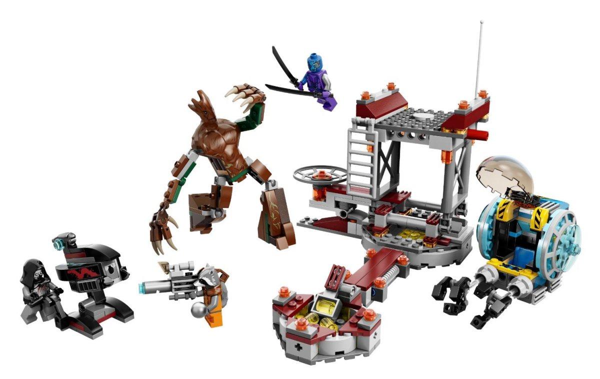 LEGO Knowhere Escape Mission 76020 Assembled