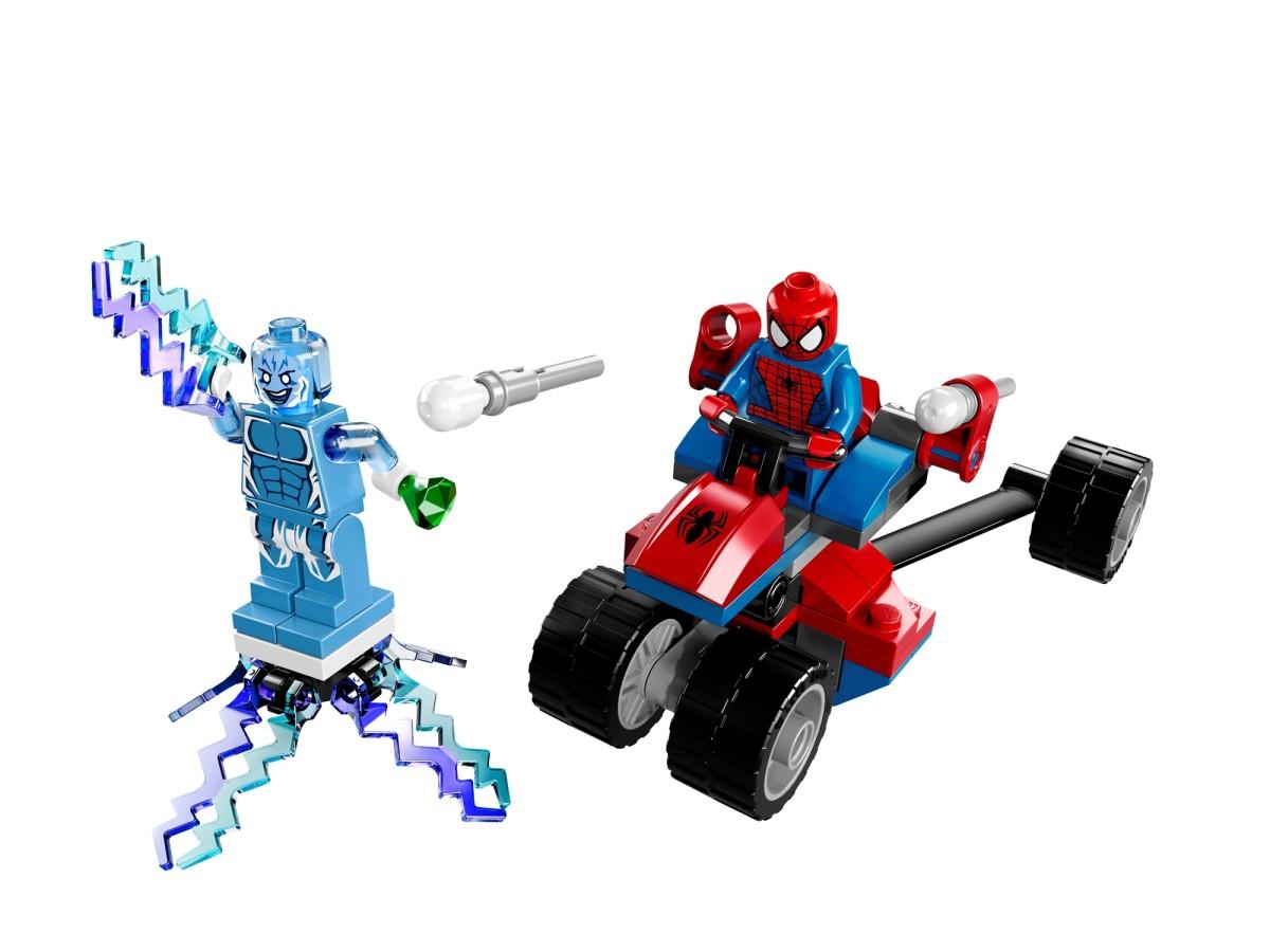 LEGO Spider-Trike vs. Electro 76014 Assembled