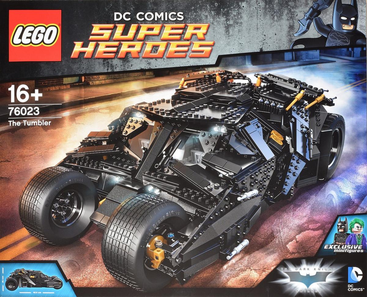 LEGO Tumbler 76023 Box