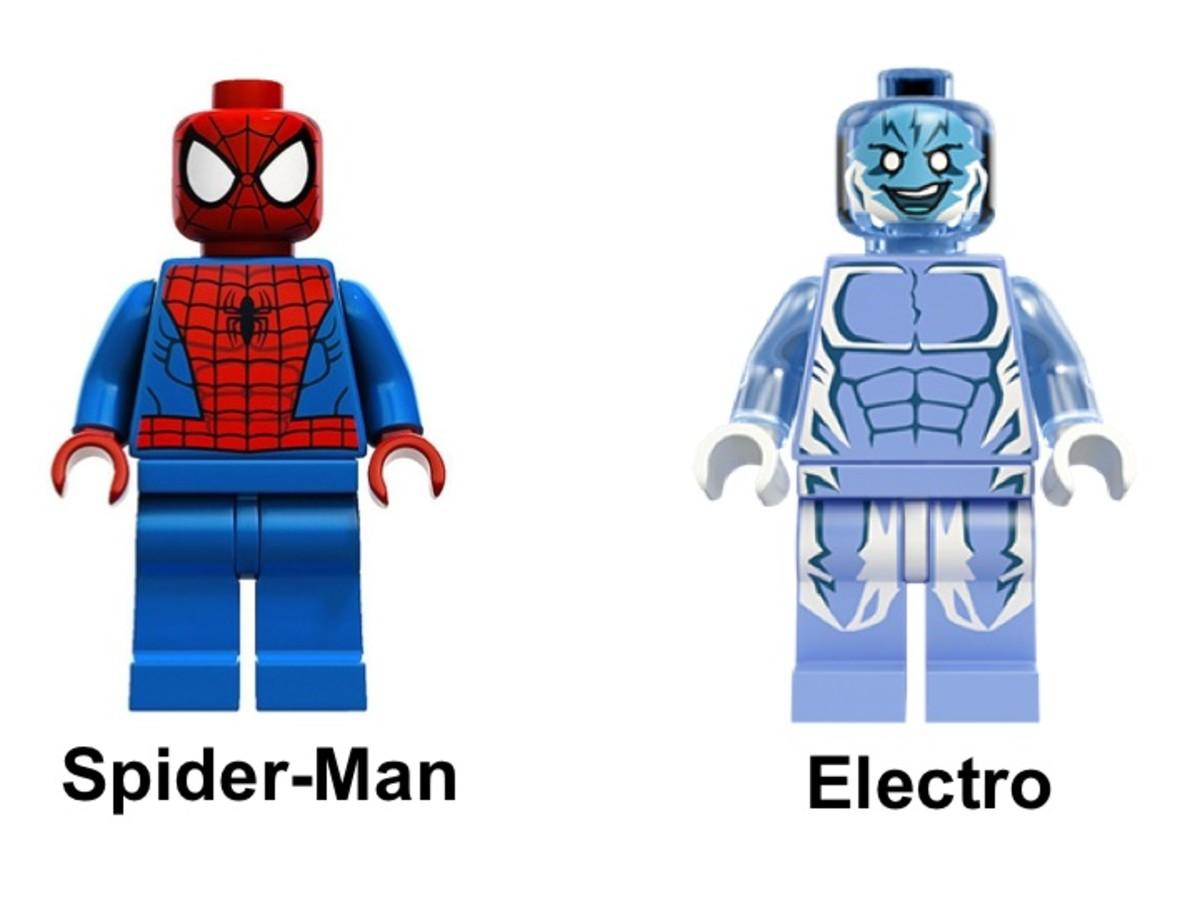 LEGO Spider-Trike vs. Electro 76014 Minifigure
