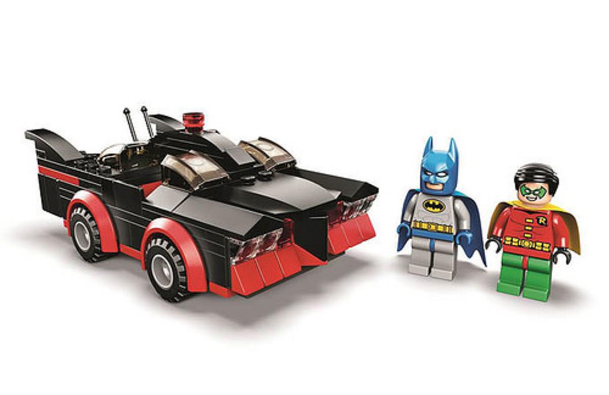 LEGO Batman Classic T.V. Series Batmobile SDCC037 Assembled