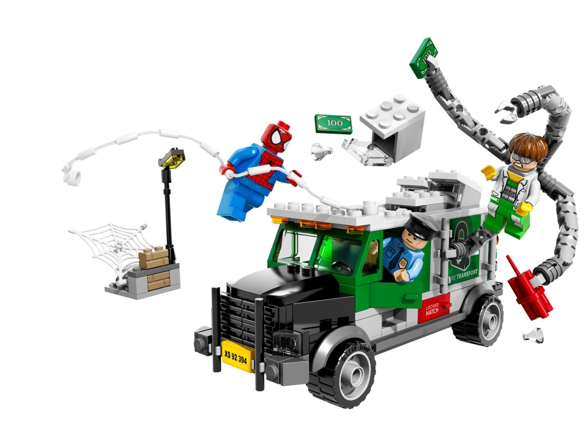 LEGO Doc Ock Truck Heist 76015 Assembled