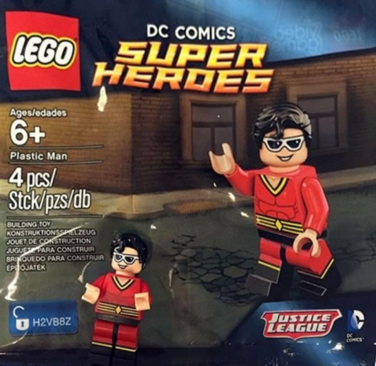 LEGO Plastic Man Polybag Front