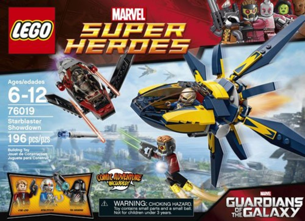 LEGO Starblaster Showdown 76019 Box