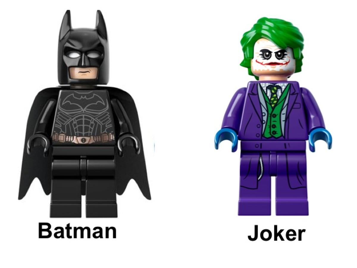 LEGO Tumbler 76023 Minifigures