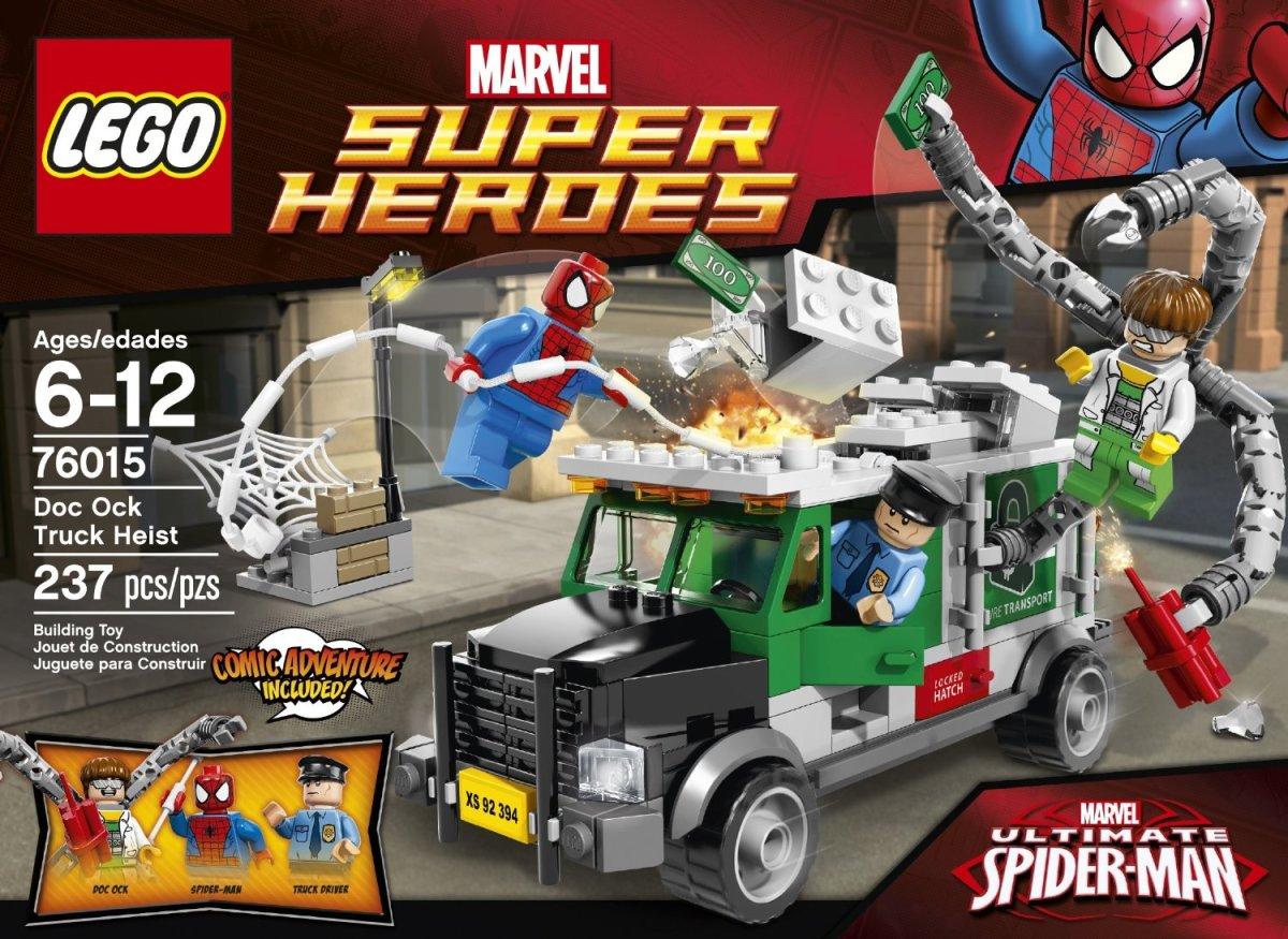 LEGO Doc Ock Truck Heist 76015 Box