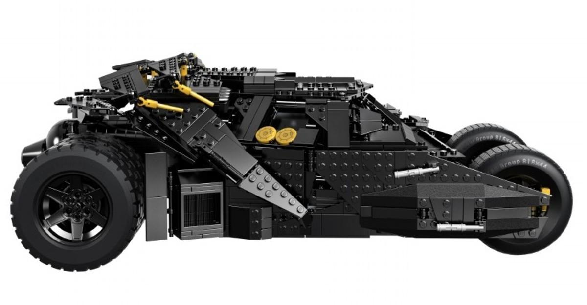 LEGO Tumbler 76023 Assembled