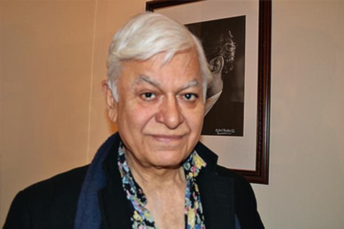 The famous Indian artist, Balraj Khanna