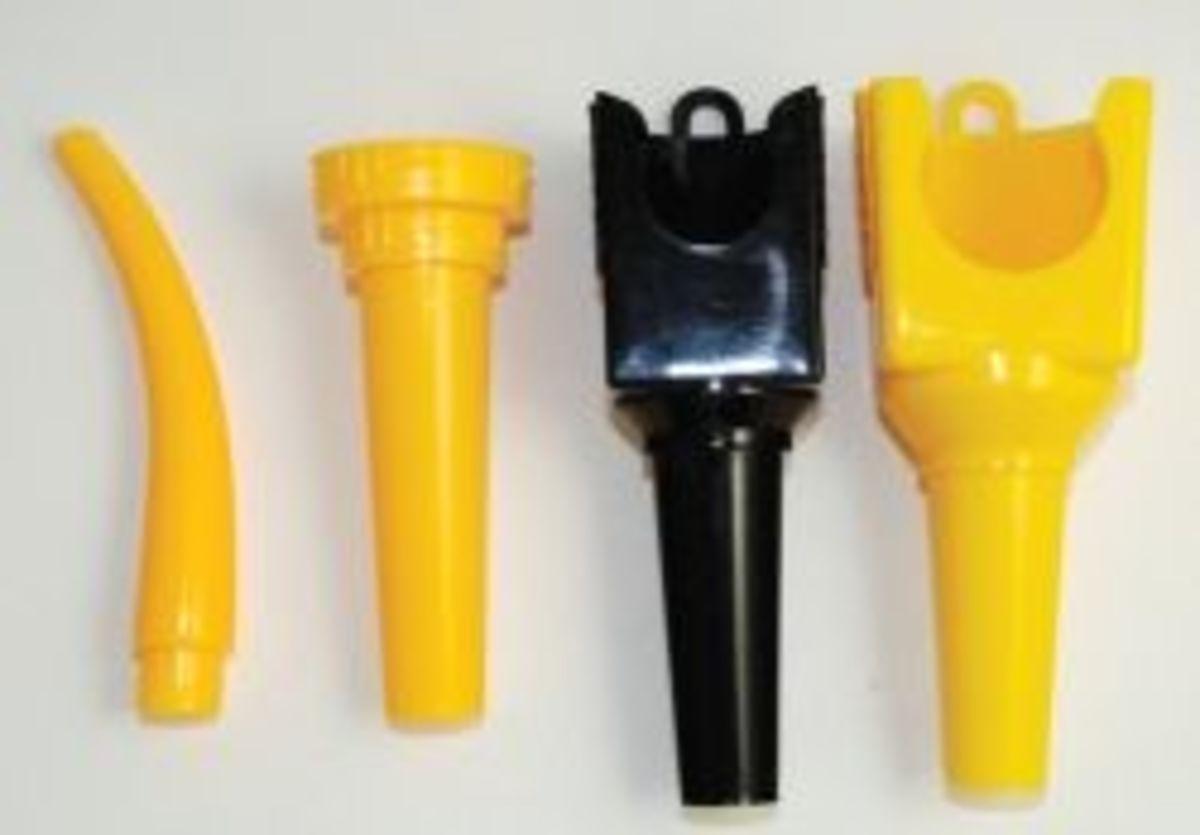 Snap & Pour® and Adapt-A-Jug® Spouts