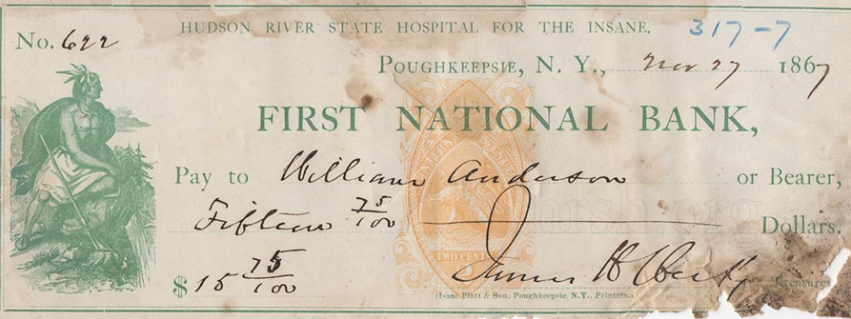 1967 Treasury Check