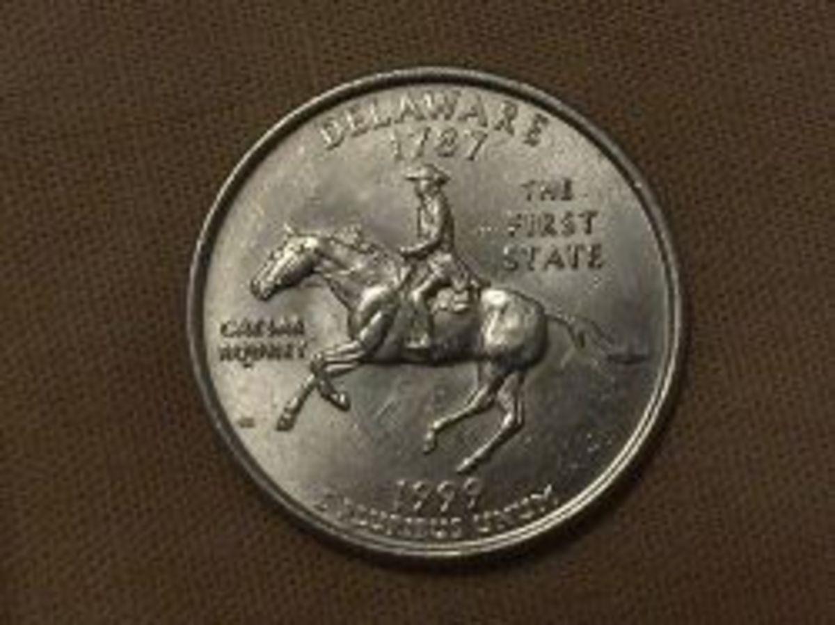 1999 Delaware State Quarter