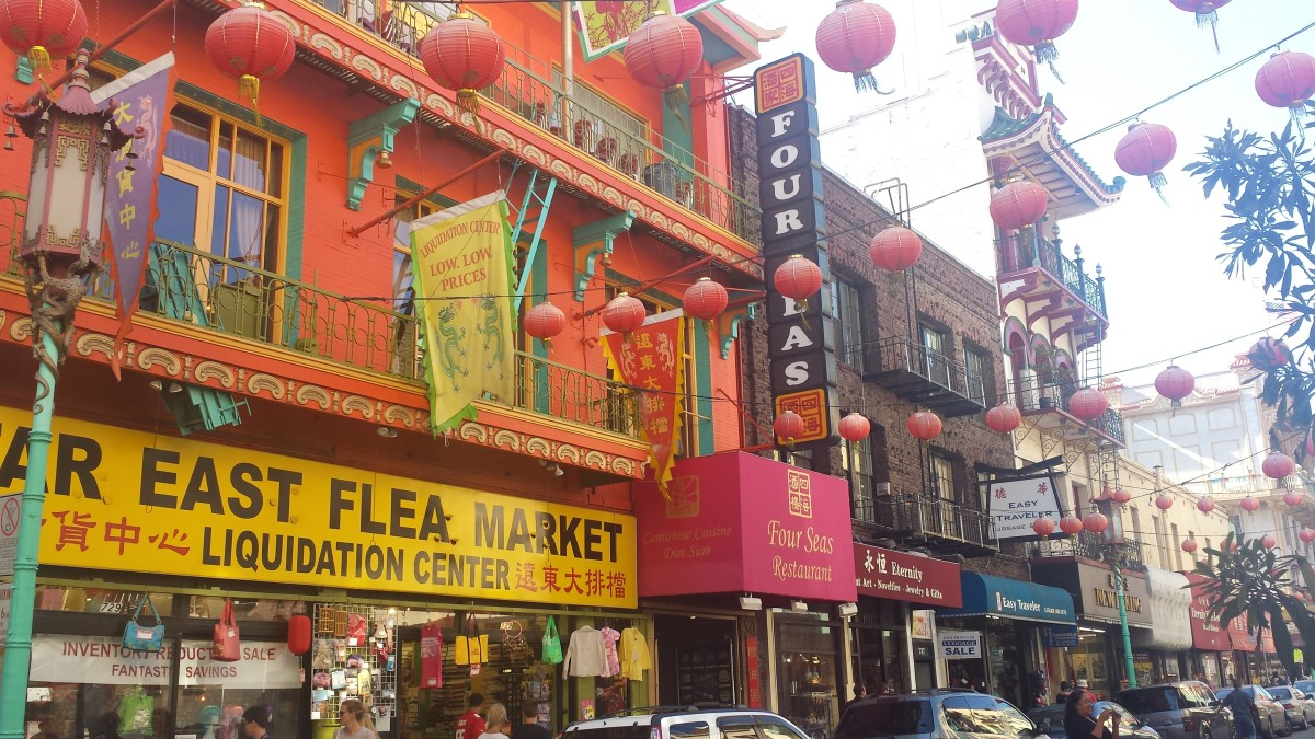 Grant Street, Chinatown, San Francisco