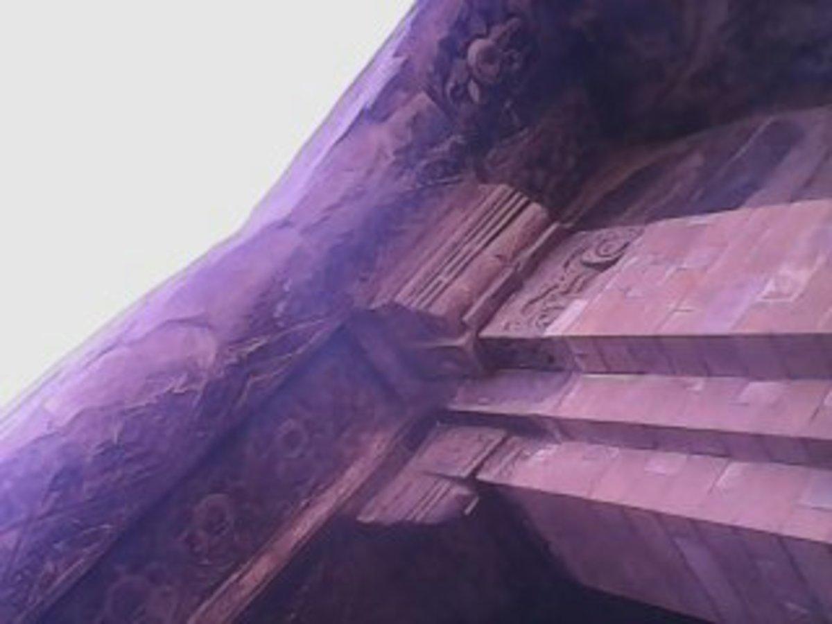 The pillar of the lintel