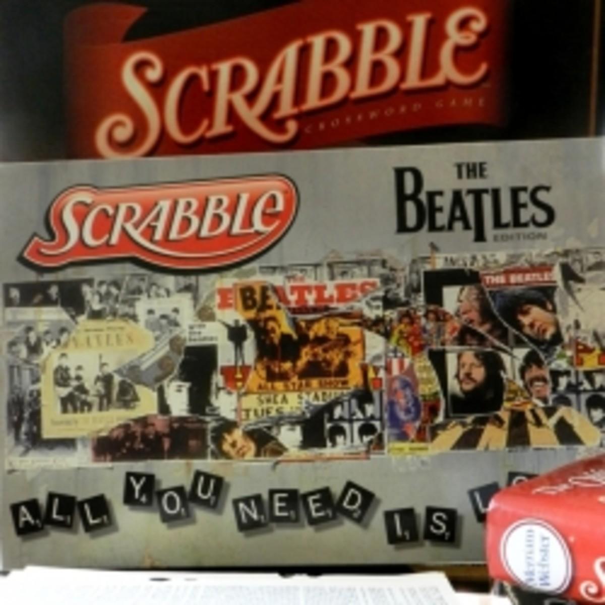 Beatles Edition Scrabble Game