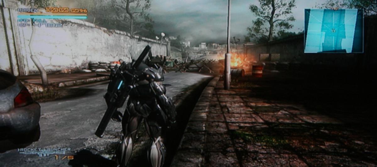 Metal Gear Rising: Revengeance walkthrough, Part Four: Hammerhead