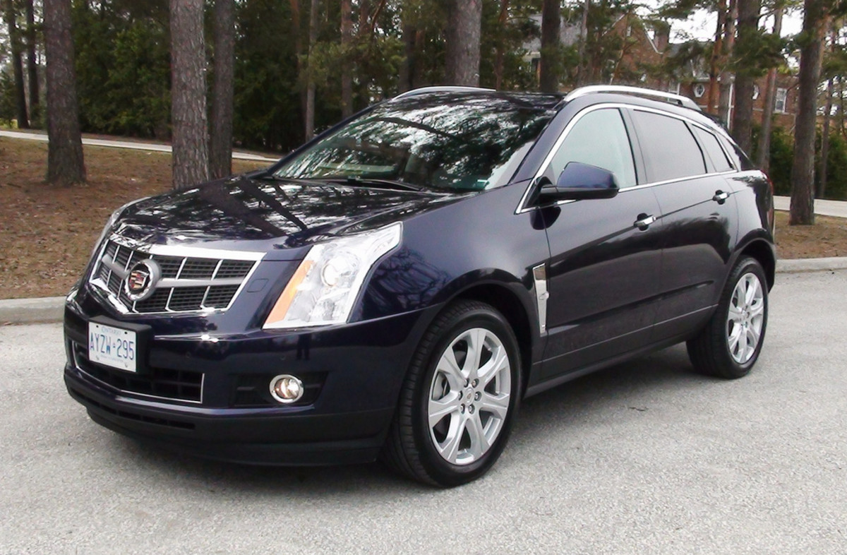 The Cadillac SRX, unnecessarily unique