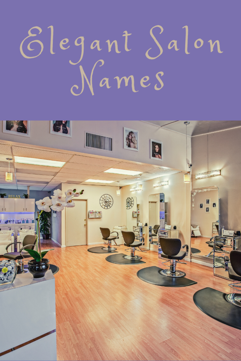 Elegant and traditional beauty parlor name ideas for your salon