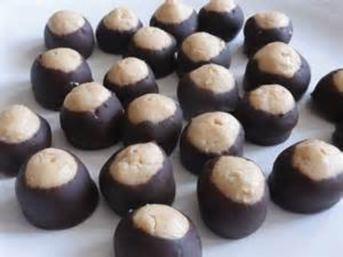 Bear N Mom Recipes - Buckeye Candy