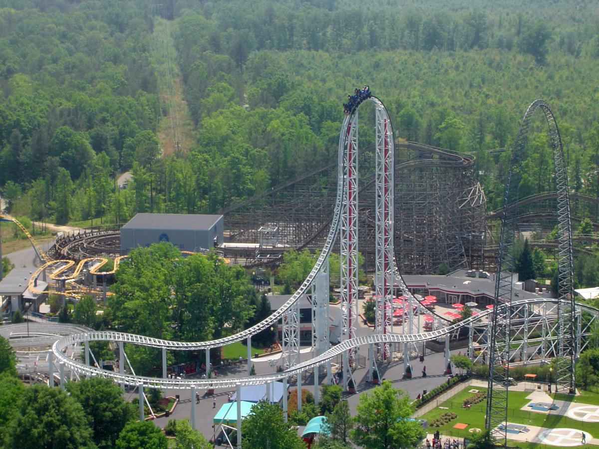 A new ride to experience some thrills, chills and a few spills.