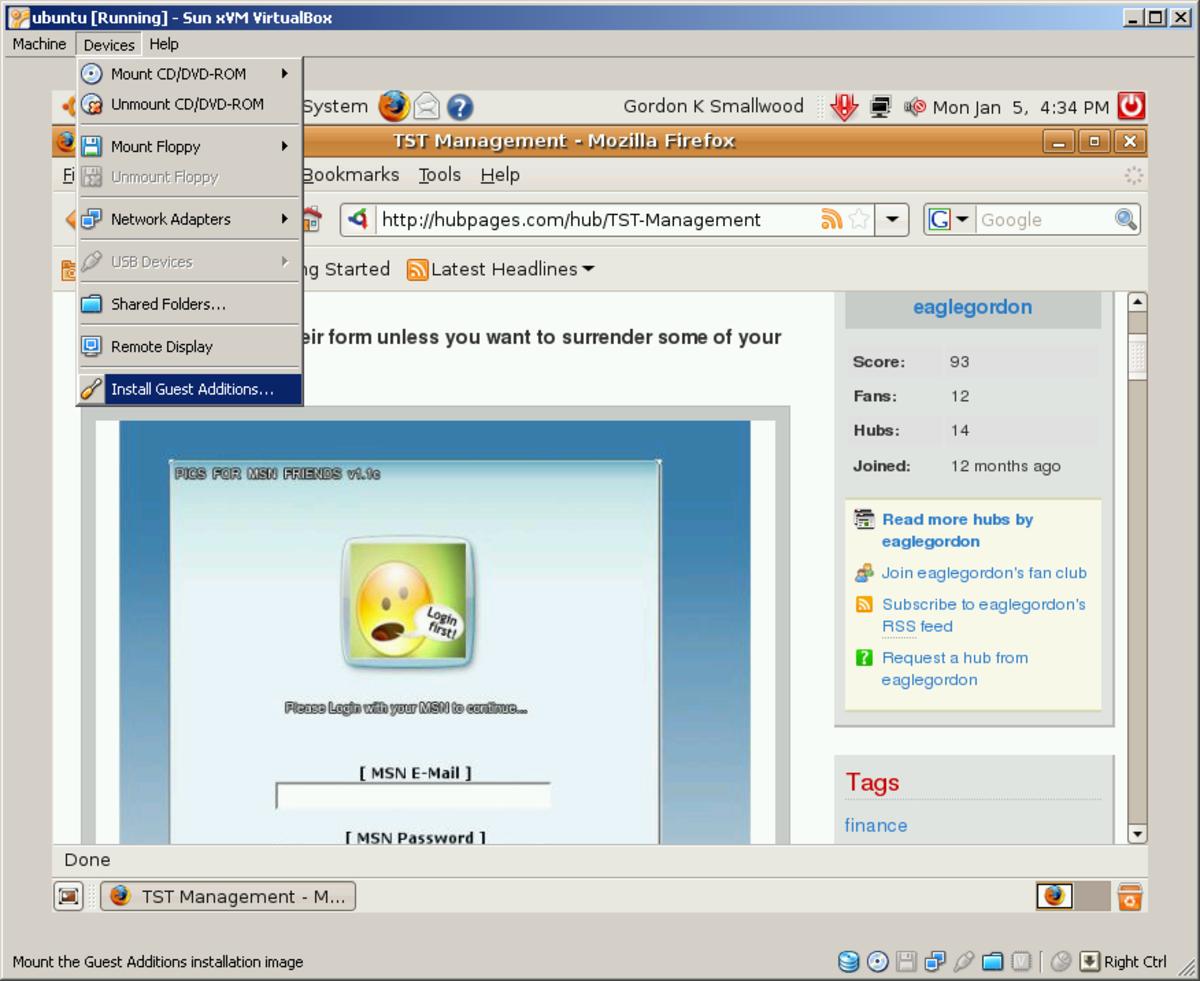 virtualbox-linux-windows