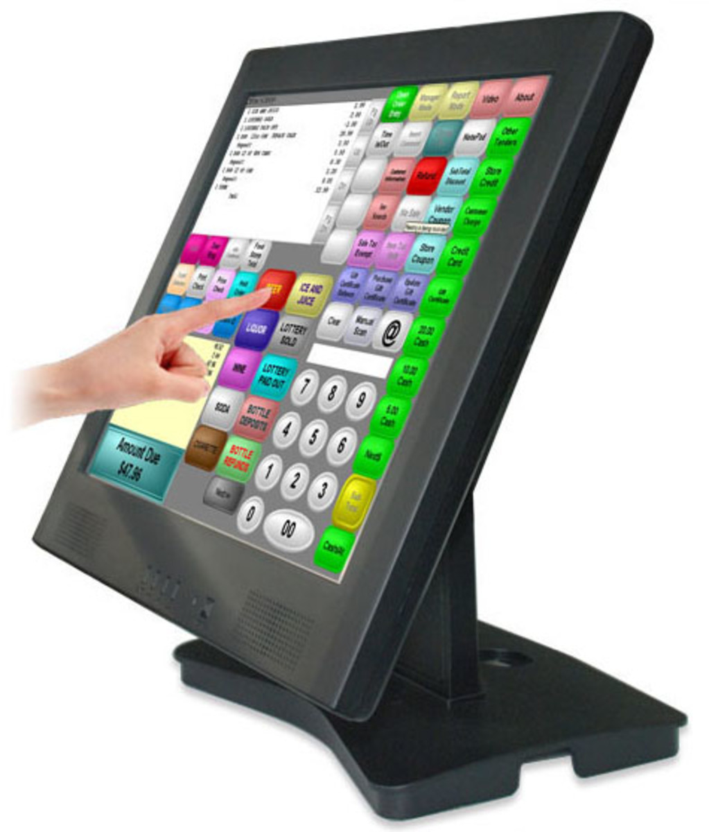 Touch Screen Monitor for Business Application