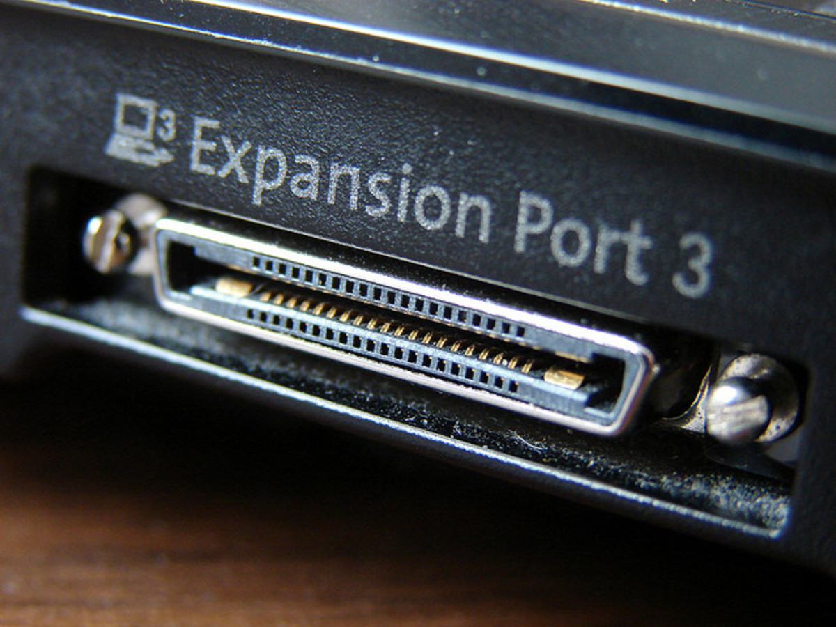 HP Proprietary Design 'Expansion Port 3'