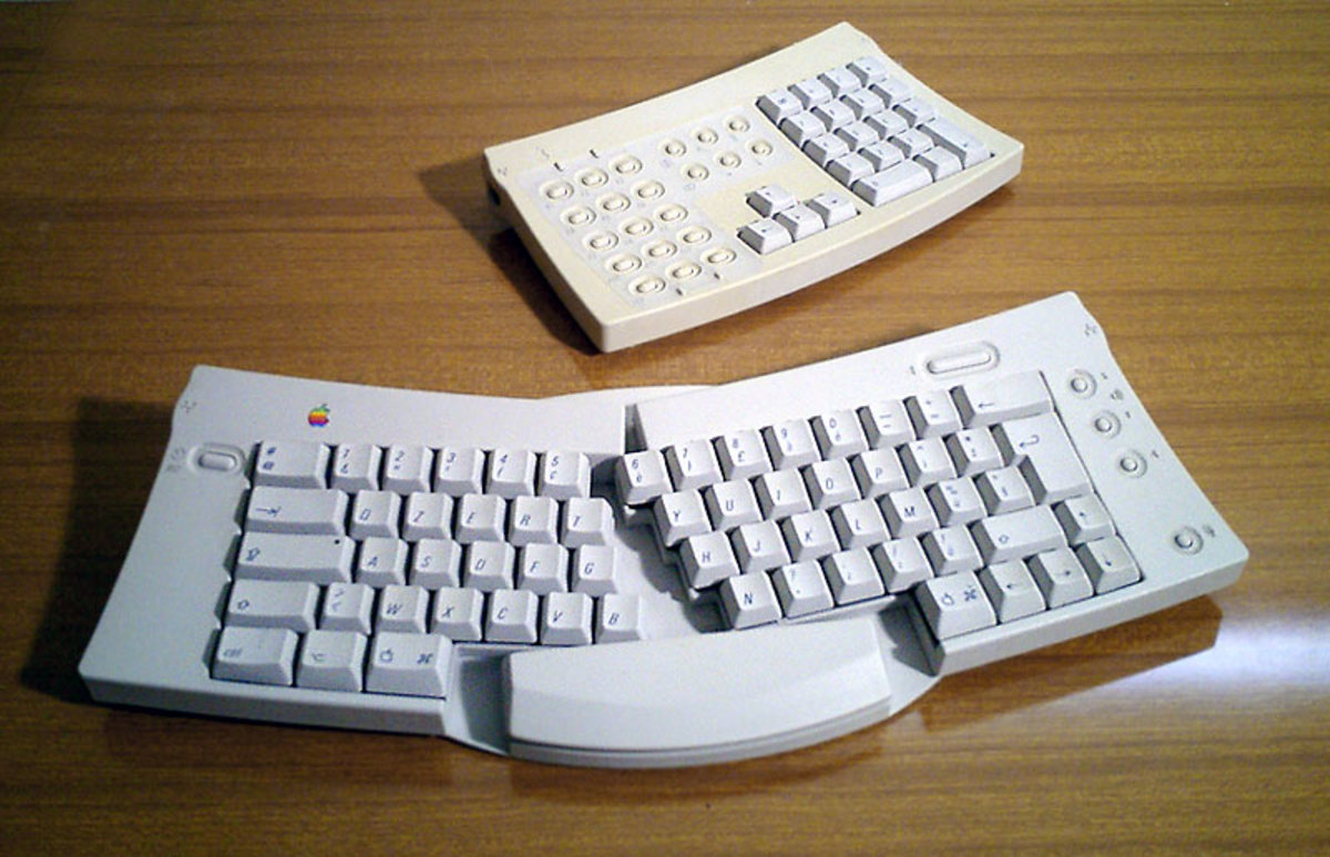 Apple's Ergonomic Split Keyboard