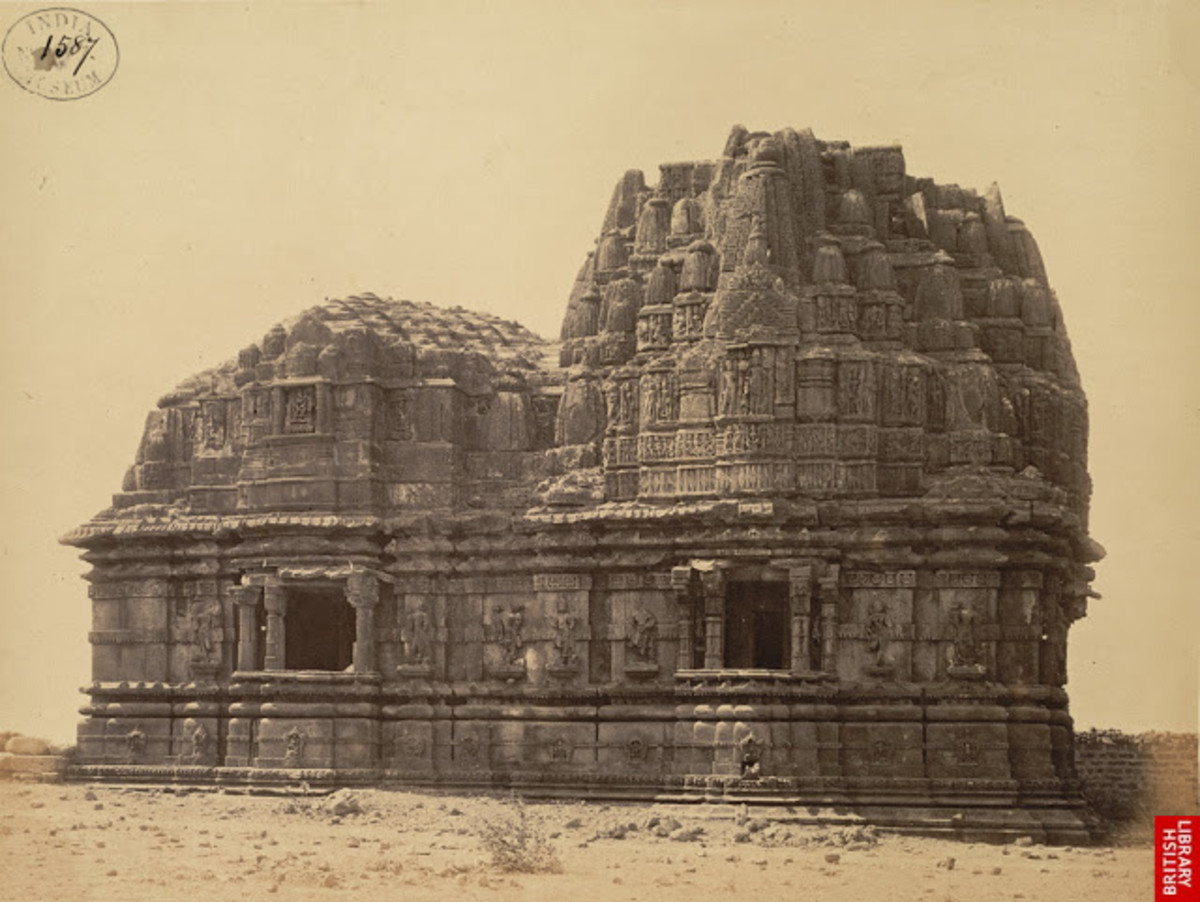 somnath temple after the looting by Mahmud
