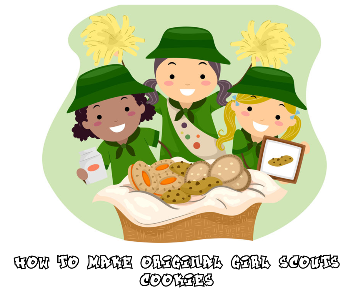 Girl Scouts Selling Homemade Cookies