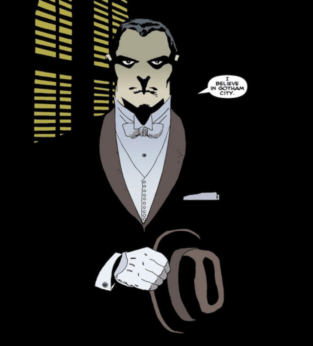 "Carmine ""The Roman"" Falcone talking about Gotham City."