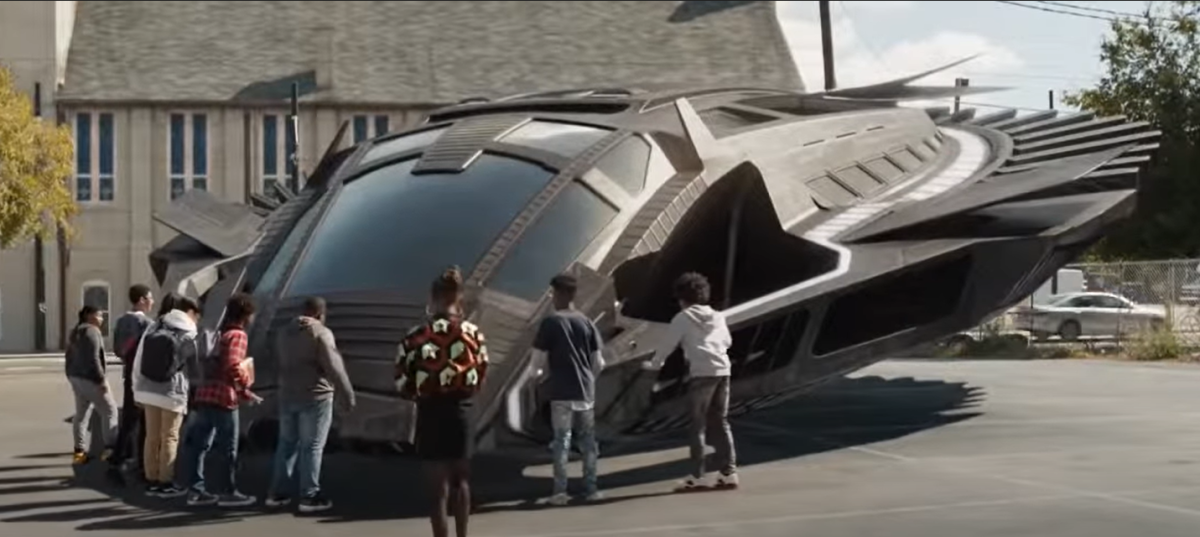 Courtesy of Marvel Studios.  The ending sequence of Black Panther has T'Challa learning from the past mistakes by revealing Wakanda's power to the world, but doing so as an outreach and not a powerbroker.