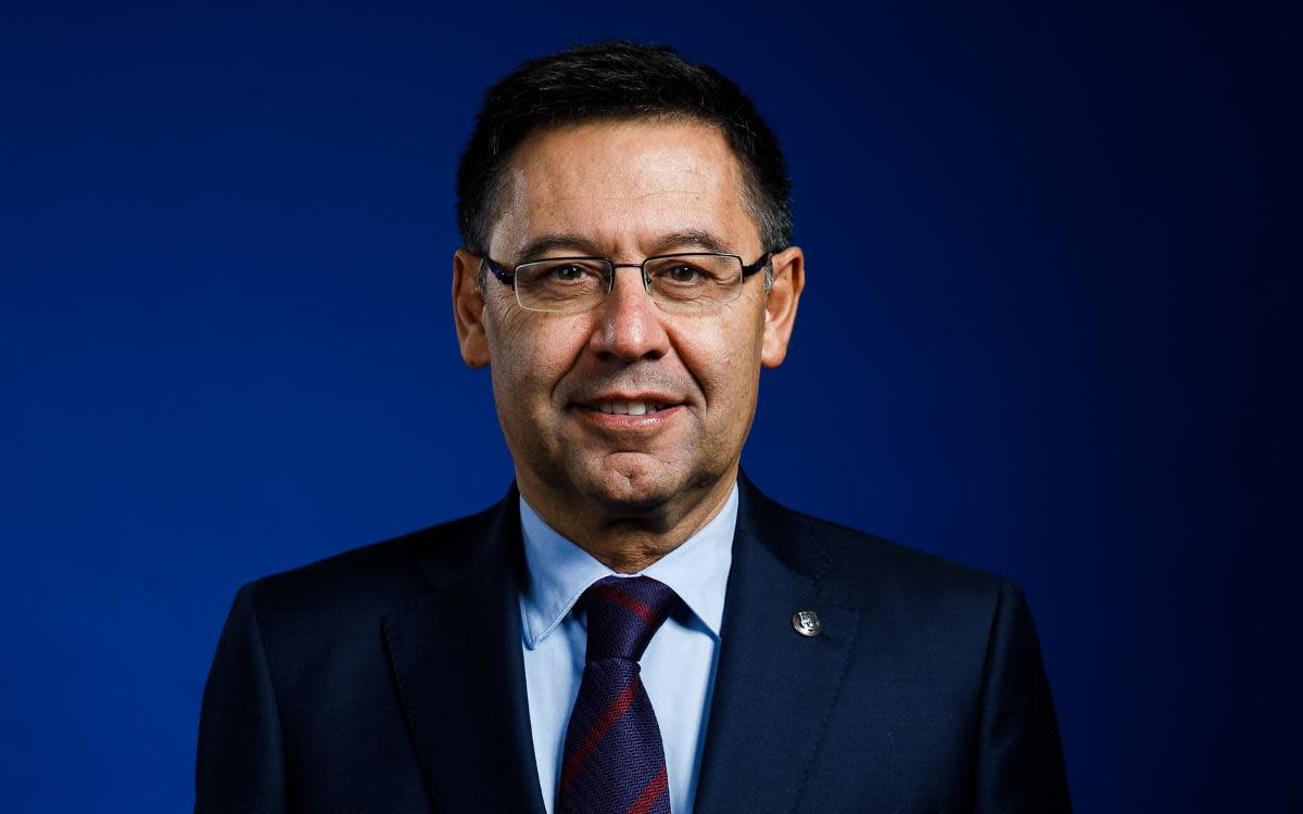 Josep Maria Bartomeu was Barcelona's president from 2014 to 2020.
