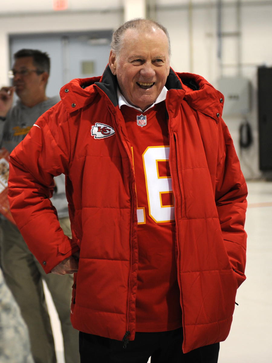 Hall of Famer Len Dawson holds numerous franchise passing records for the Chiefs.