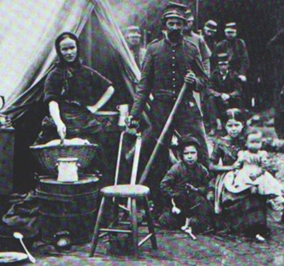 Civil War Laundress