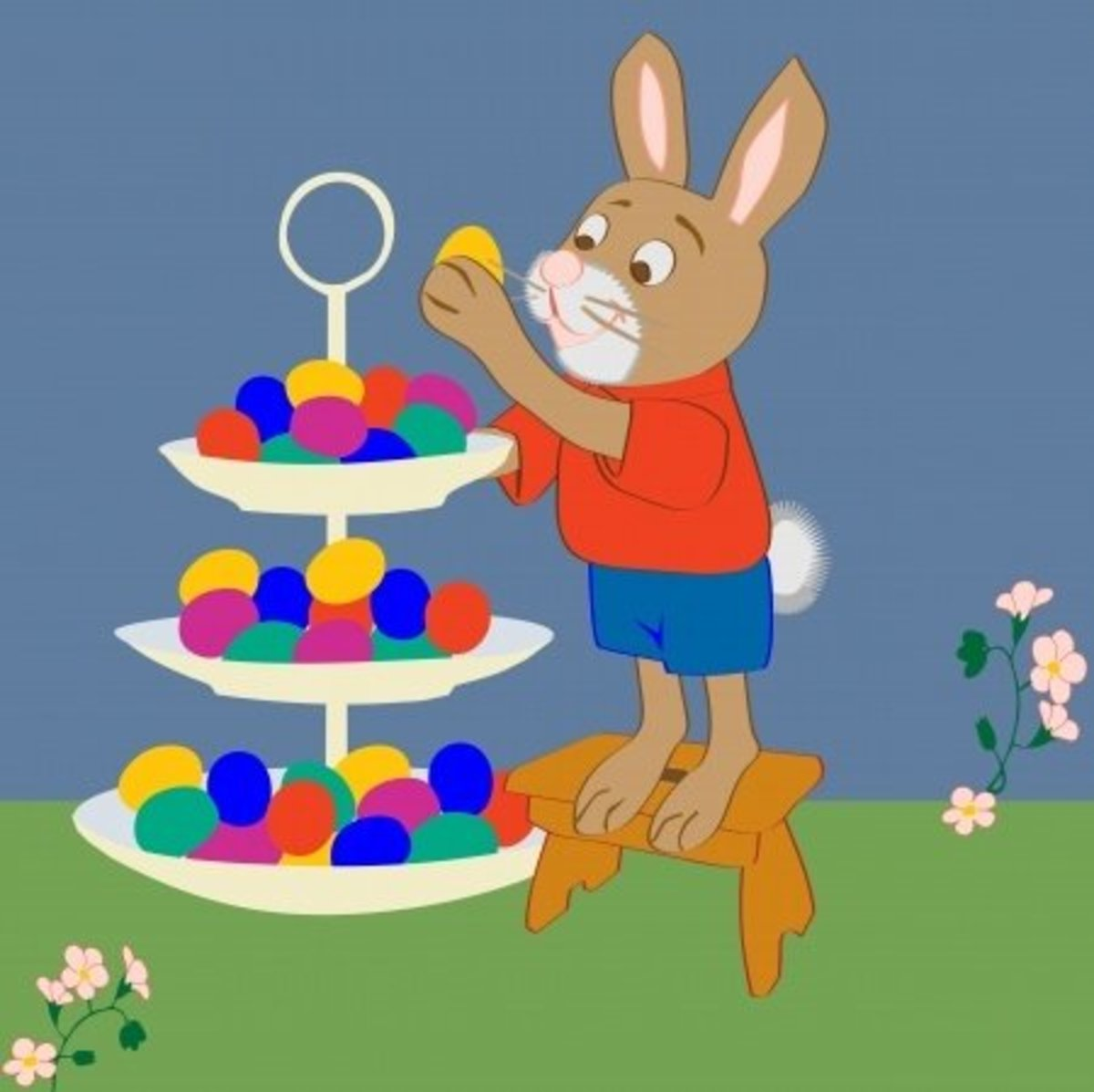 Bunnies and eggs are  the best thing about Easter.-ask any kid