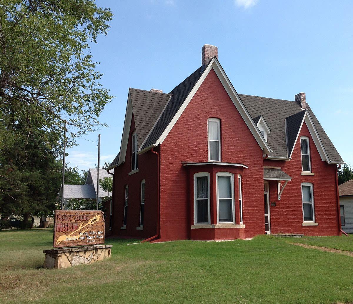 Salter family home in Argonia, Kansas