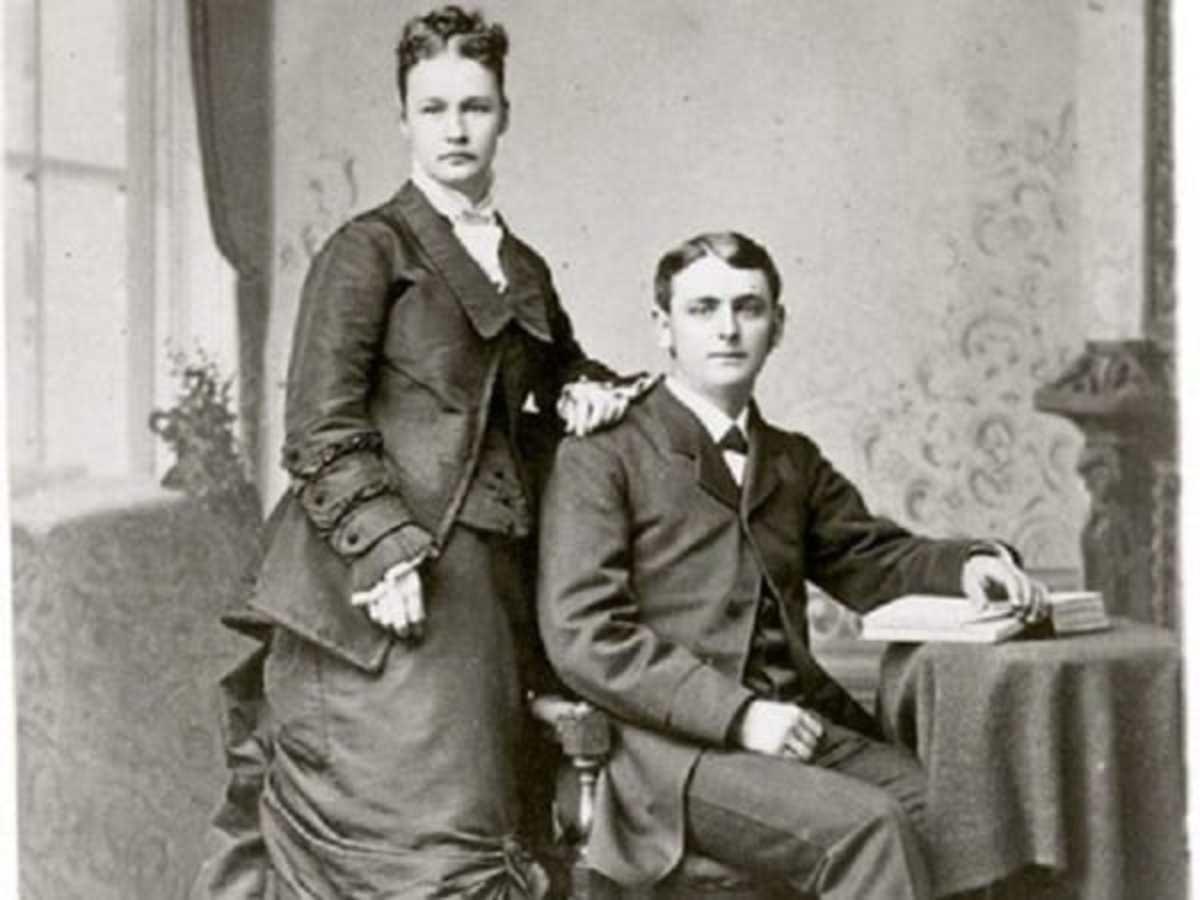 Susanna Salter and her husband Lewis Allison