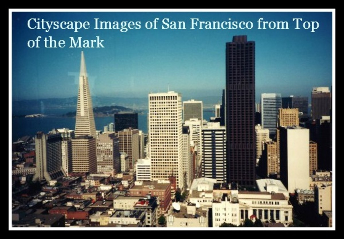 Cityscape Pictures ~ Mark Hopkins San Francisco ~ Top of the Mark