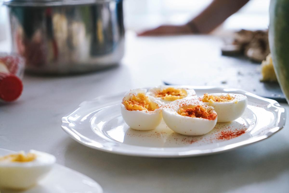 Basic recipe for deviled eggs