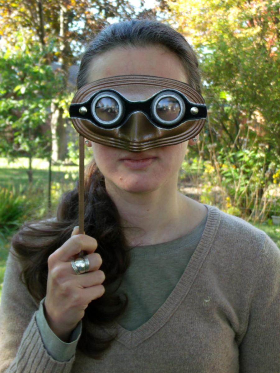 Steampunk Goggles Masquerade Mask